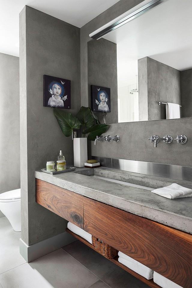 Bồn rửa tay xi măng - lựa chọn tuyệt hảo mà mọi gia đình không nên bỏ lỡ - Ảnh 18.