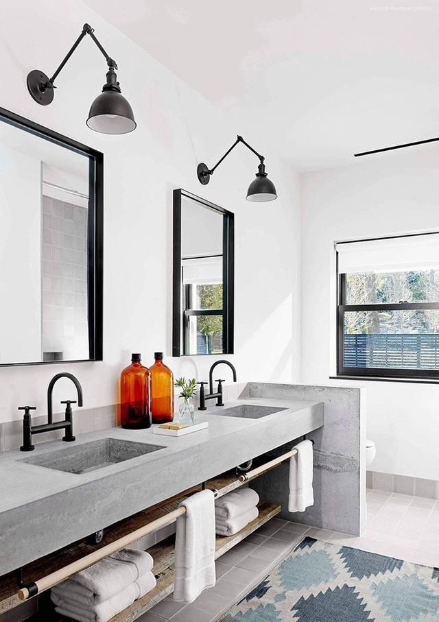 Bồn rửa tay xi măng - lựa chọn tuyệt hảo mà mọi gia đình không nên bỏ lỡ - Ảnh 21.