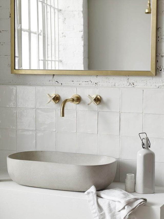 Bồn rửa tay xi măng - lựa chọn tuyệt hảo mà mọi gia đình không nên bỏ lỡ - Ảnh 6.