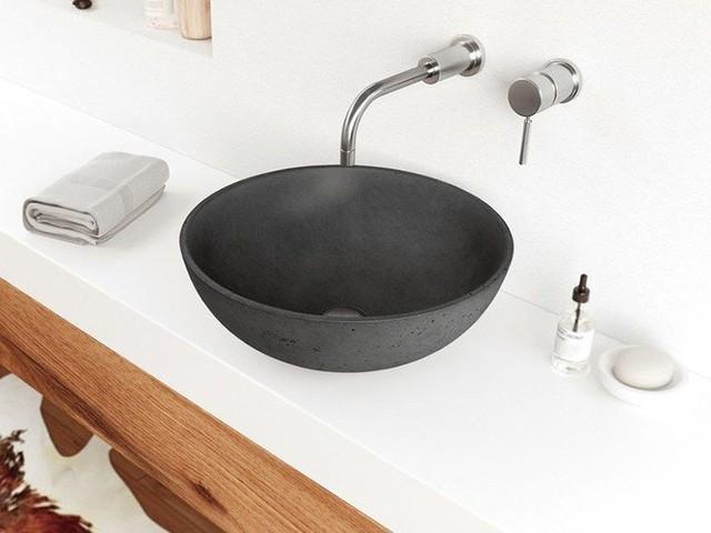 Bồn rửa tay xi măng - lựa chọn tuyệt hảo mà mọi gia đình không nên bỏ lỡ - Ảnh 9.