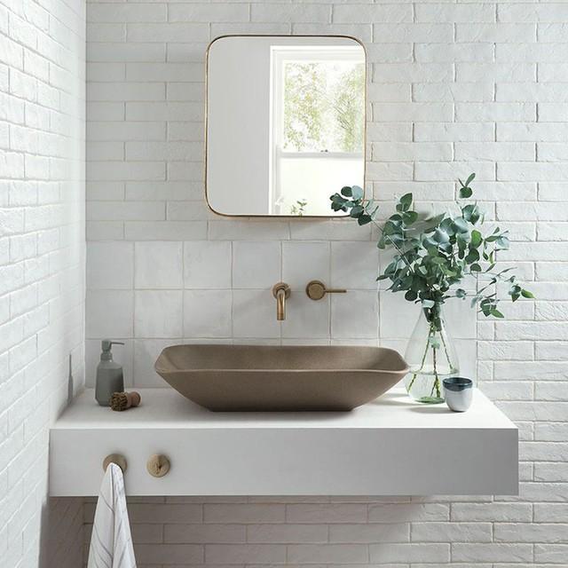 Bồn rửa tay xi măng - lựa chọn tuyệt hảo mà mọi gia đình không nên bỏ lỡ - Ảnh 10.