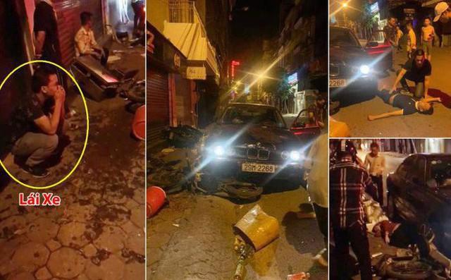 Xác định danh tính tài xế điều khiển xe BMW tông hàng loạt người trên phố Mai Hắc Đế - Ảnh 1.