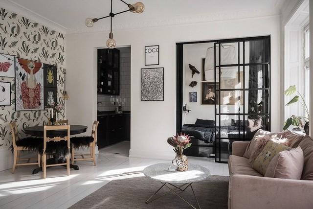 Điểm chút sắc hồng cho căn hộ, không gian nhà vẫn sang trọng đến từng chi tiết - Ảnh 1.