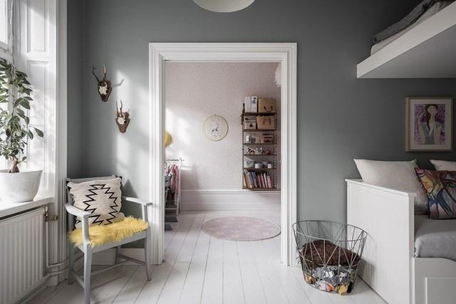 Điểm chút sắc hồng cho căn hộ, không gian nhà vẫn sang trọng đến từng chi tiết - Ảnh 12.