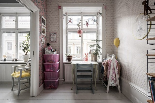 Điểm chút sắc hồng cho căn hộ, không gian nhà vẫn sang trọng đến từng chi tiết - Ảnh 13.