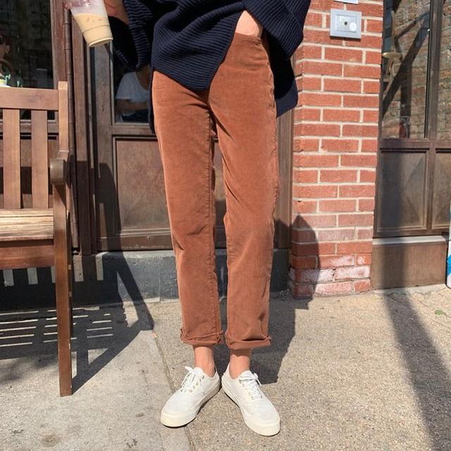 """Diện với áo gì cũng """"auto"""" đẹp lại hô biến chân thon dài, quần ống suông chính là item bạn nên tích cực diện - Ảnh 18."""