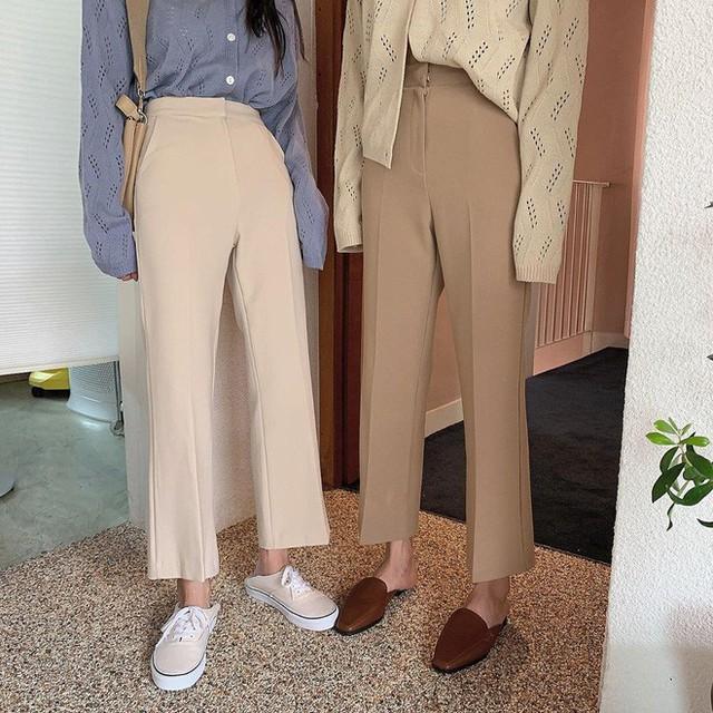 """Diện với áo gì cũng """"auto"""" đẹp lại hô biến chân thon dài, quần ống suông chính là item bạn nên tích cực diện - Ảnh 19."""