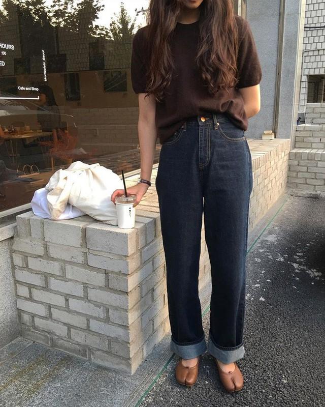 """Diện với áo gì cũng """"auto"""" đẹp lại hô biến chân thon dài, quần ống suông chính là item bạn nên tích cực diện - Ảnh 3."""