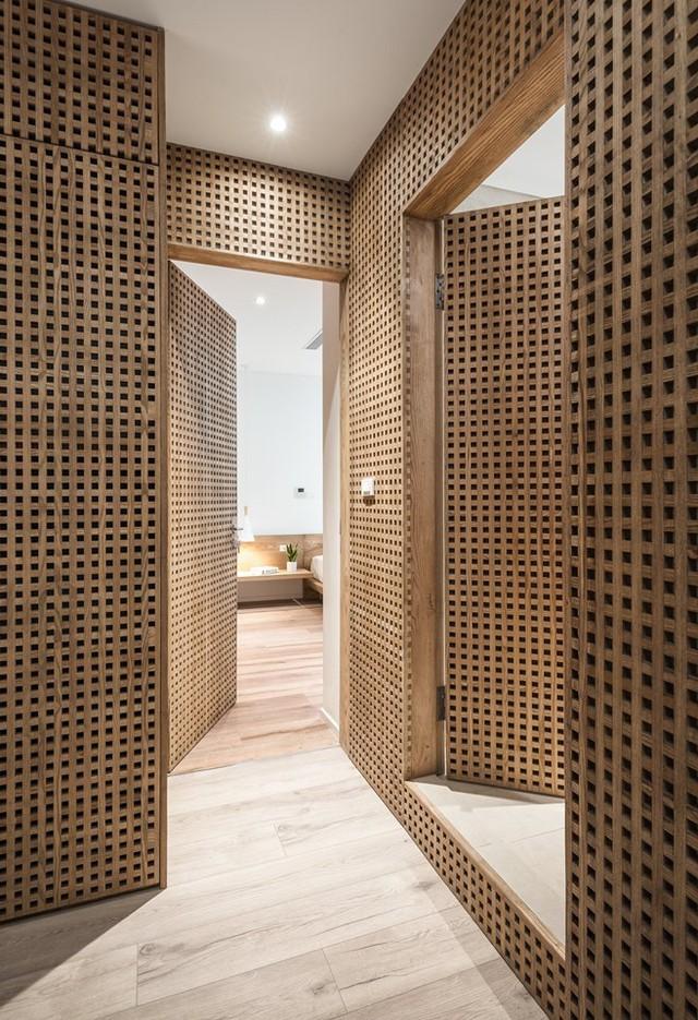 Căn hộ view Hồ Tây hiện đại, sang trọng sau cải tạo với nội thất gỗ tần bì - Ảnh 7.