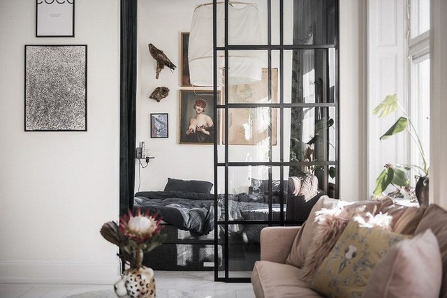 Điểm chút sắc hồng cho căn hộ, không gian nhà vẫn sang trọng đến từng chi tiết - Ảnh 7.