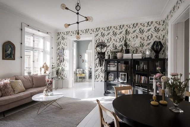 Điểm chút sắc hồng cho căn hộ, không gian nhà vẫn sang trọng đến từng chi tiết - Ảnh 9.