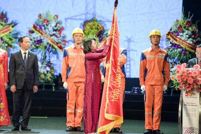 Lễ kỷ niệm 50 năm ngày thành lập (6/10/1969-6/10/2019) và đón nhận Huân chương lao động Hạng Nhì của Tổng công ty Điện lực miền Bắc - Ảnh 1.