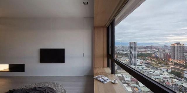 Căn hộ màu xanh đậm có cách sắp đặt nội thất khoa học tuyệt vời - Ảnh 2.