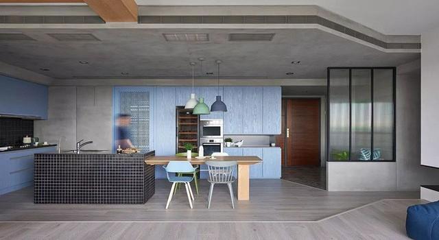 Căn hộ màu xanh đậm có cách sắp đặt nội thất khoa học tuyệt vời - Ảnh 11.