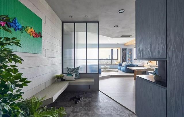 Căn hộ màu xanh đậm có cách sắp đặt nội thất khoa học tuyệt vời - Ảnh 15.