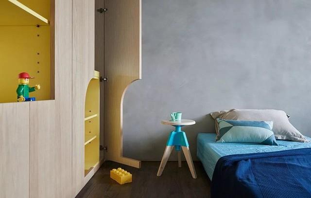 Căn hộ màu xanh đậm có cách sắp đặt nội thất khoa học tuyệt vời - Ảnh 17.