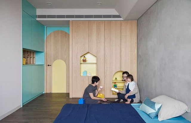 Căn hộ màu xanh đậm có cách sắp đặt nội thất khoa học tuyệt vời - Ảnh 18.