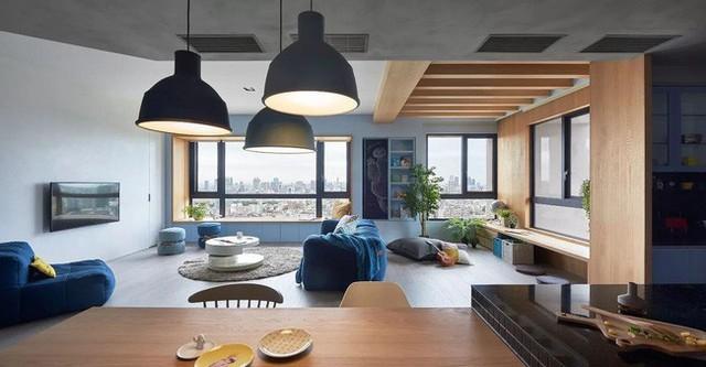 Căn hộ màu xanh đậm có cách sắp đặt nội thất khoa học tuyệt vời - Ảnh 10.