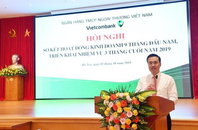 Vietcombank tổ chức Hội nghị sơ kết 9 tháng đầu năm và triển khai nhiệm vụ 3 tháng cuối năm 2019 - Ảnh 2.