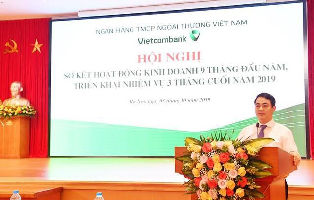 Vietcombank tổ chức Hội nghị sơ kết 9 tháng đầu năm và triển khai nhiệm vụ 3 tháng cuối năm 2019 - Ảnh 1.