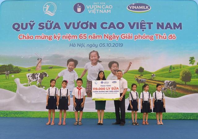 Vinamilk chung tay bảo vệ môi trường thủ đô thông qua quỹ 1 triệu cây xanh cho Việt Nam - Ảnh 6.