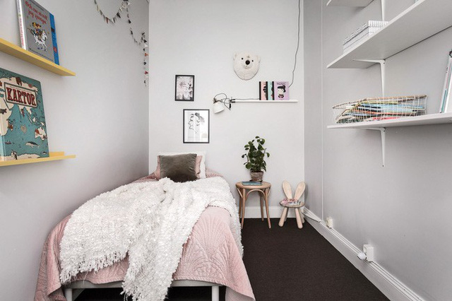 Căn hộ 86m² với 3 phòng ngủ được tận dụng tối ưu từng góc nhỏ rất đáng để tham khảo - Ảnh 19.