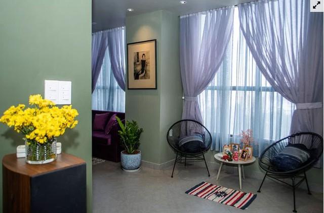 Chủ nhà gộp ba căn hộ để có phòng khách hơn 100 m2  - Ảnh 7.