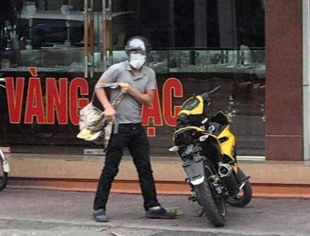 Đã bắt được đối tượng nổ súng cướp tiệm vàng tại Quảng Ninh - Ảnh 4.
