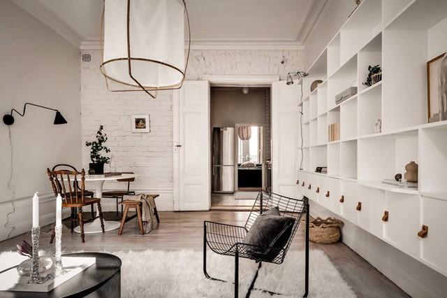 Căn hộ nhỏ 44m² vẫn chất lừ nhờ cách bài trí nội thất không chê vào đâu được  - Ảnh 11.