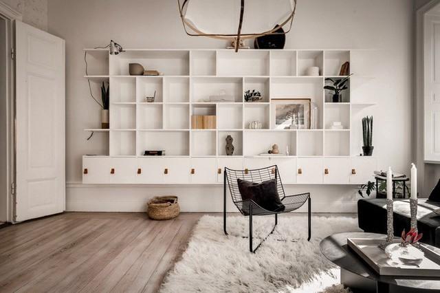 Căn hộ nhỏ 44m² vẫn chất lừ nhờ cách bài trí nội thất không chê vào đâu được  - Ảnh 13.
