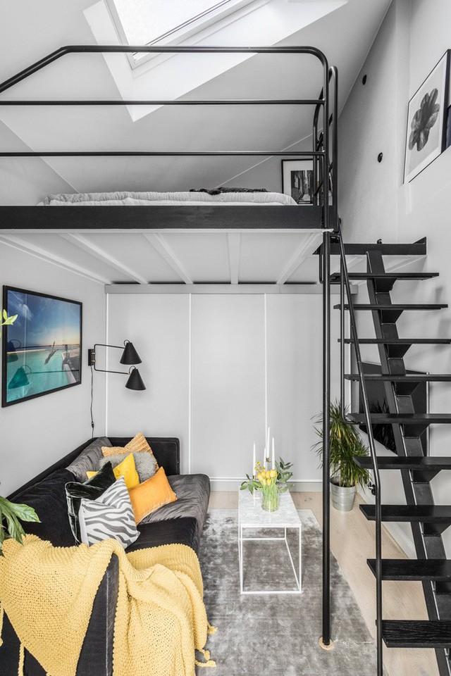 Nhà nhỏ chỉ 31m² được thiết kế tận dụng tối đa không gian theo chiều dọc - Ảnh 15.