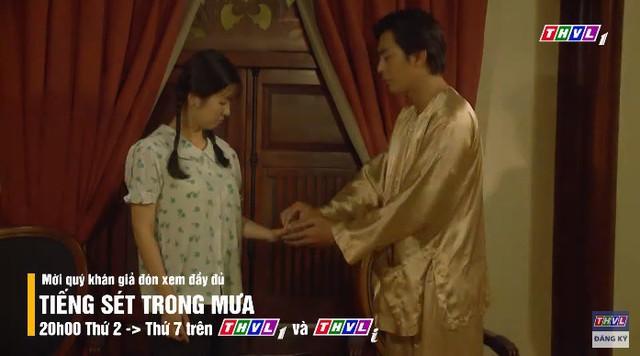 Tiếng sét trong mưa tập 32: Lộ chuyện loạn luân với mẹ kế, Thanh Bình chi tiền bịt miệng em gái - Ảnh 3.