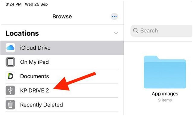 Hướng dẫn sao chép, sao lưu dữ liệu trên iphone, ipad sang các thiết bị lưu trữ ngoài - Ảnh 3.