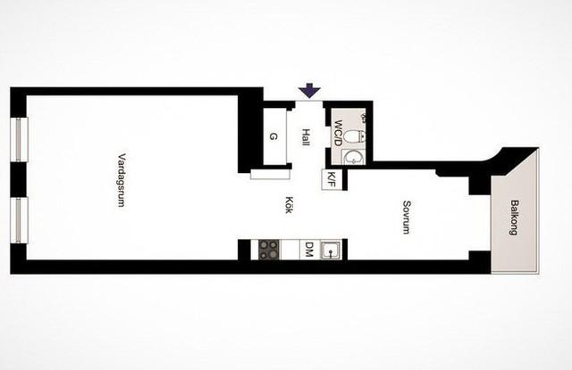 Căn hộ nhỏ 44m² vẫn chất lừ nhờ cách bài trí nội thất không chê vào đâu được  - Ảnh 22.