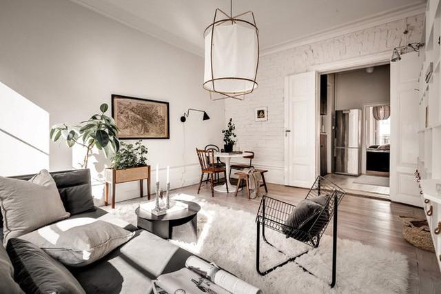 Căn hộ nhỏ 44m² vẫn chất lừ nhờ cách bài trí nội thất không chê vào đâu được  - Ảnh 6.