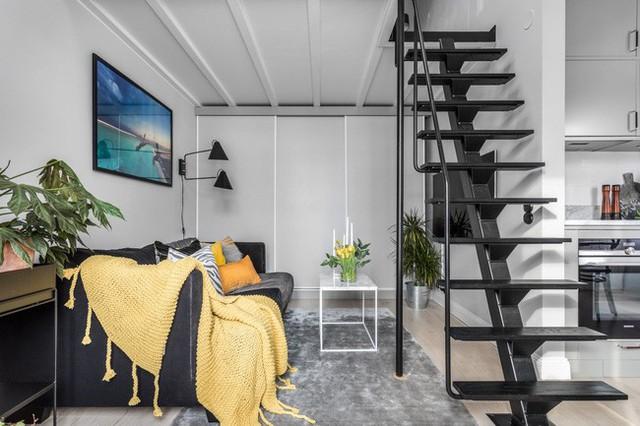 Nhà nhỏ chỉ 31m² được thiết kế tận dụng tối đa không gian theo chiều dọc - Ảnh 7.