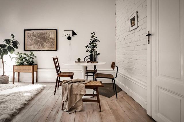 Căn hộ nhỏ 44m² vẫn chất lừ nhờ cách bài trí nội thất không chê vào đâu được  - Ảnh 7.