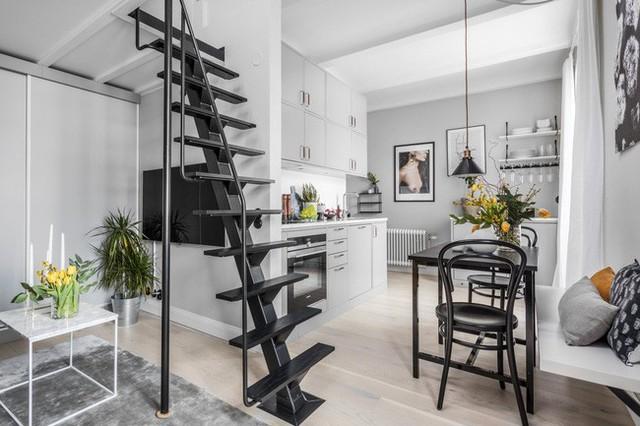 Nhà nhỏ chỉ 31m² được thiết kế tận dụng tối đa không gian theo chiều dọc - Ảnh 8.