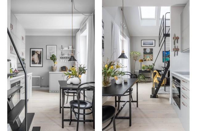 Nhà nhỏ chỉ 31m² được thiết kế tận dụng tối đa không gian theo chiều dọc - Ảnh 9.