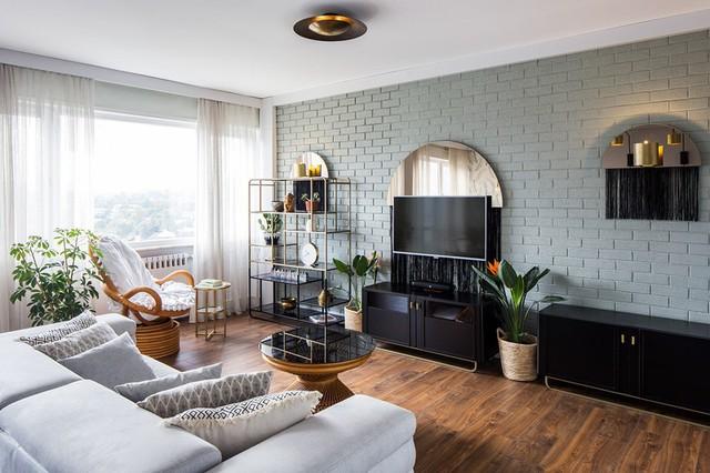 Căn hộ tầng cao có nội thất đơn giản nhưng đẹp không tì vết - Ảnh 1.