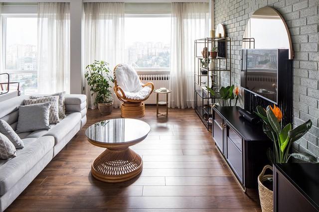 Căn hộ tầng cao có nội thất đơn giản nhưng đẹp không tì vết - Ảnh 2.