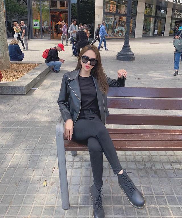 Học ngay 11 set đồ của Hoa hậu Hương Giang cách mix quần jeans từ đơn giản đến cá tính - Ảnh 11.
