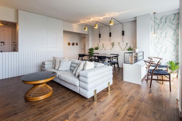 Căn hộ tầng cao có nội thất đơn giản nhưng đẹp không tì vết - Ảnh 3.