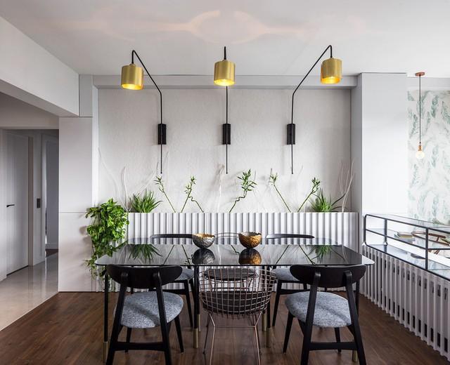 Căn hộ tầng cao có nội thất đơn giản nhưng đẹp không tì vết - Ảnh 4.