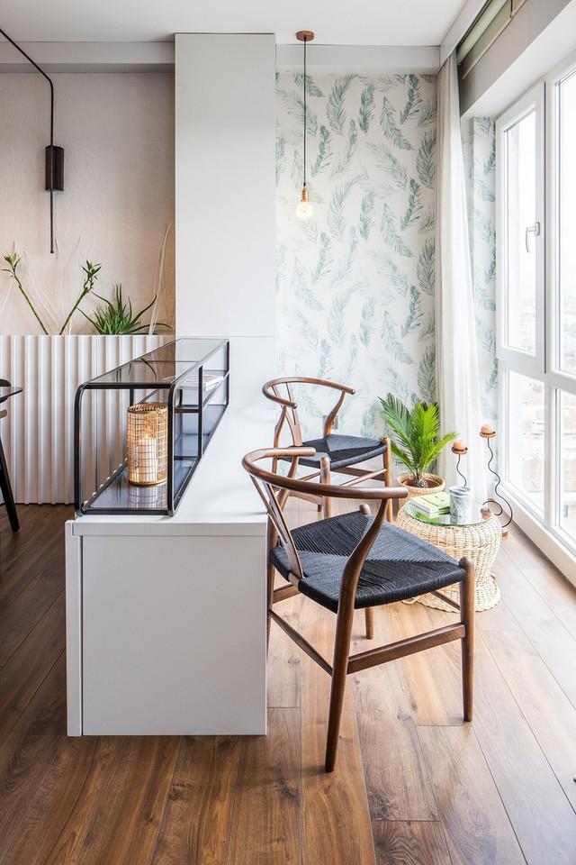 Căn hộ tầng cao có nội thất đơn giản nhưng đẹp không tì vết - Ảnh 5.