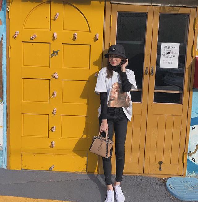 Học ngay 11 set đồ của Hoa hậu Hương Giang cách mix quần jeans từ đơn giản đến cá tính - Ảnh 6.