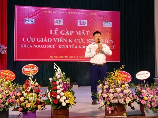 Ân tình 10 năm ngày thành lập trường Cao đẳng nghề Công nghệ cao Hà Nội - Ảnh 7.