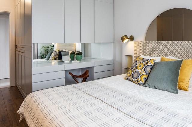 Căn hộ tầng cao có nội thất đơn giản nhưng đẹp không tì vết - Ảnh 8.