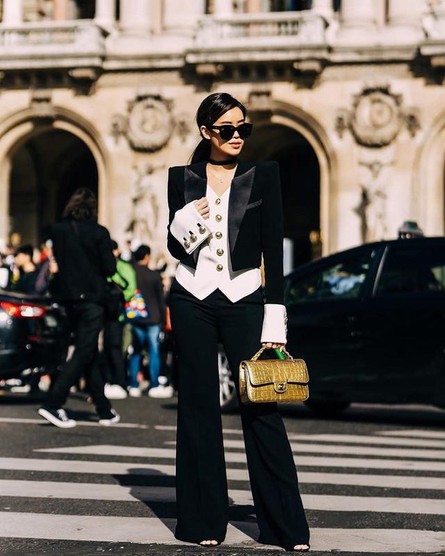 Bất ngờ nhan sắc của Rich Kid đình đám vừa lọt top street style đẹp nhất Paris Fashion Week - Ảnh 3.