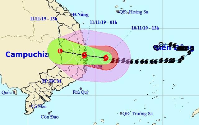 Đêm nay bão số 6 đổ bộ: Cảnh giác cao độ diễn biến bất ngờ của bão - Ảnh 1.